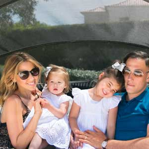 Rachel Stevens & Family on a Tots To Travel Holiday